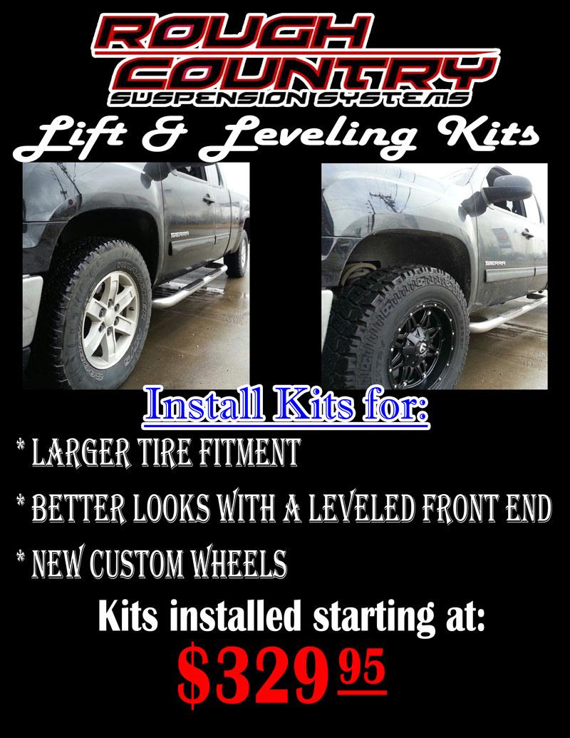 Lift Kit Brands >> Leveling Lift Kits In Jackson Mo Cape Girardeau Mo